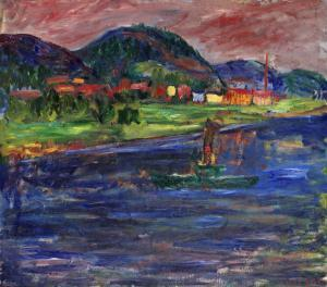 Ivan Ivarsson. Desde el río.Coleccion particular