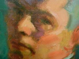 Johan Johansson. Autorretrato. Detalle. Museo de Bellas Artes. Gotemburgo. Foto R.Puig