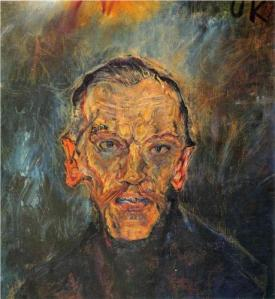Ludwing Ritter von Janikowsky por Oskar Kokoschka. Wikipaintings.