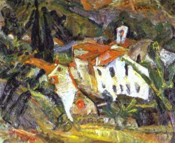 Couvent des Capucins. Céret. Chaim Soutine 1920.