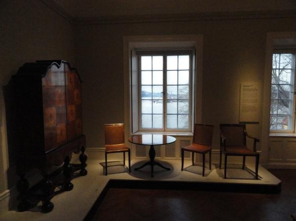 Muebles de Carl Malmsten. Waldemarsudde. Foto R.Puig.