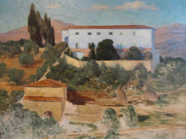 Prins Eugen. La villa azul de Florencia. Foto R.Puig.