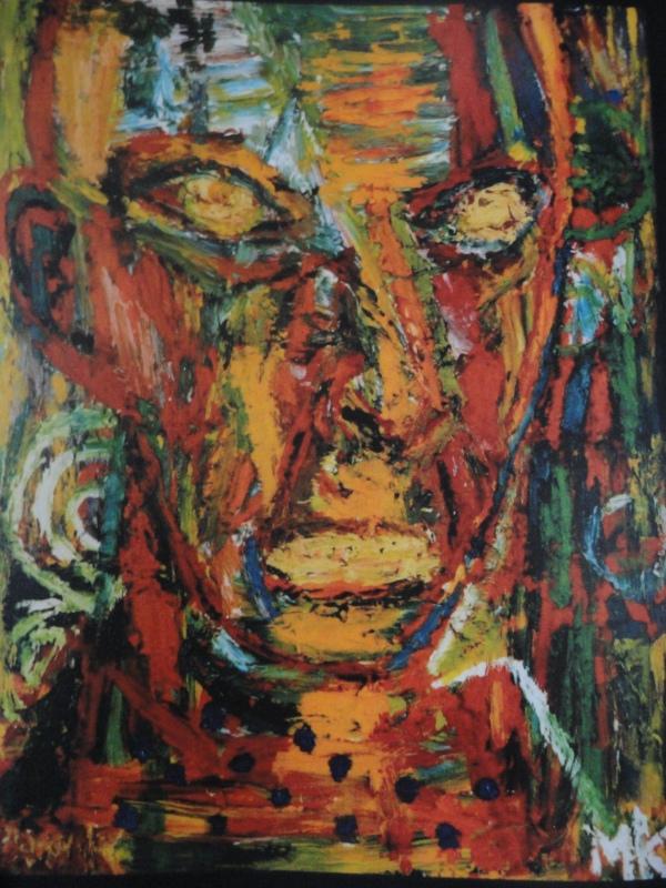 Retrato. Mauritz Kalström målningar