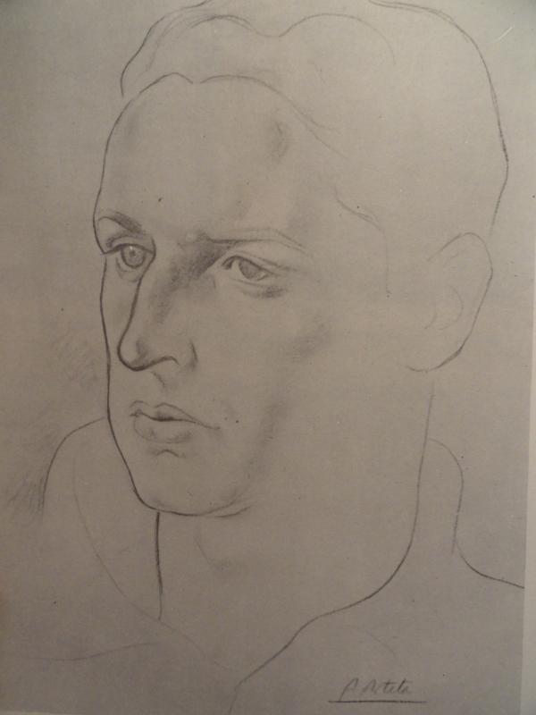 Aurelio de Arteta. Rostro varonil.
