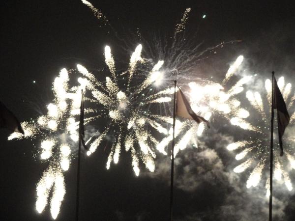 Fuegos de fin de año. Gotemburgo. Foto R.Puig