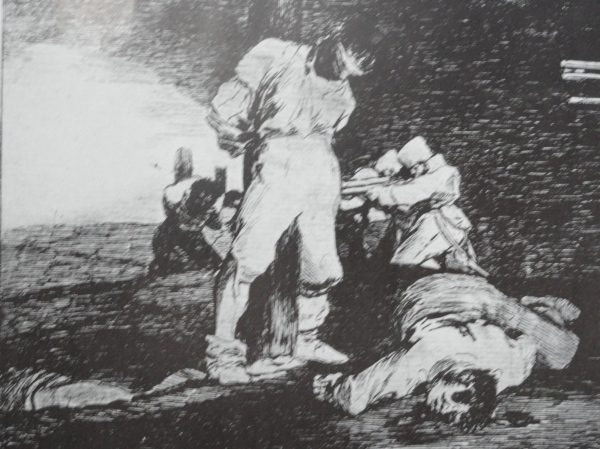 Goya. Y no hay remedio