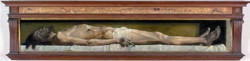 Hans Holbein. Cristo en el sarcófago 1521. Wikipedia Commons