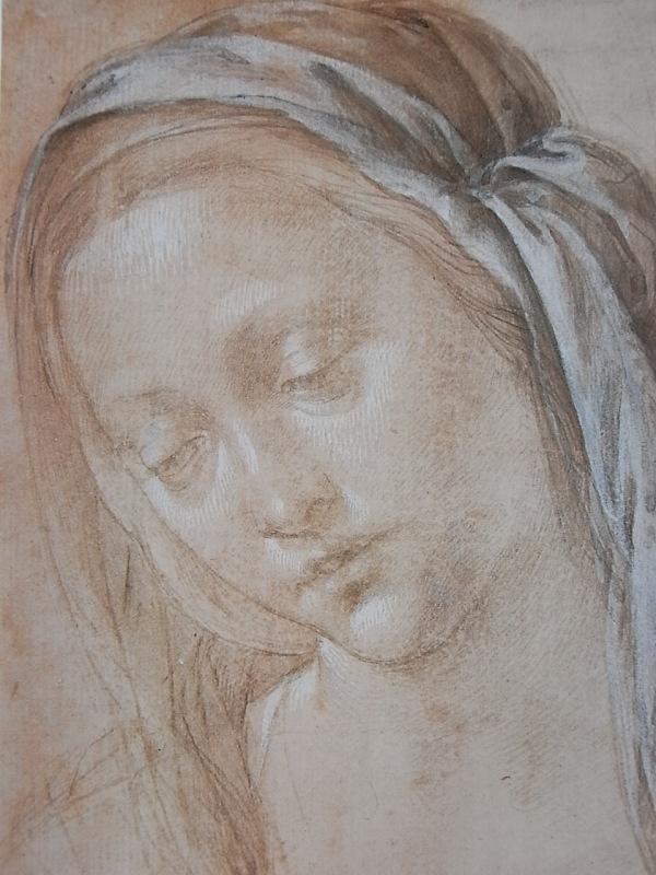 Lorenzo Di Credi. Mujer con velo. Uffizi