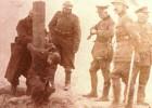 Soldado belga ejecutado en 1918. El País y Archivos de Guerra de Flandes