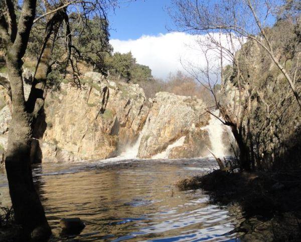 Cascada del rio Guadalix. Foto R.Puig