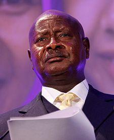 El presidente de Ugana Yoweri Kaguta Museveni. Wikipedia