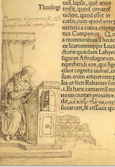 Teologo segun Holbein. Margen del Elogio de la locura de Erasmo