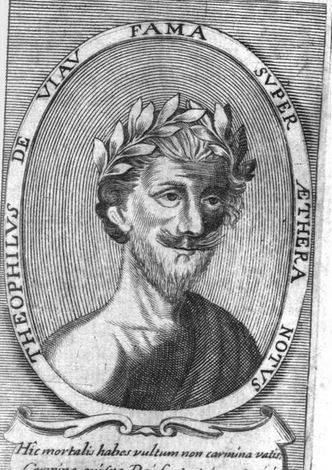 Théophile de Viau. Grabado de 1677