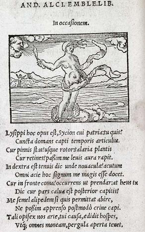 Andrea Alciato. In occasionem Facsimil. Edición de París. 1540. Biblioteca U.Toronto