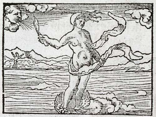 In occasionem. Emblema de Andrea Alciato (1536).Emblem Project. U.Glasgow