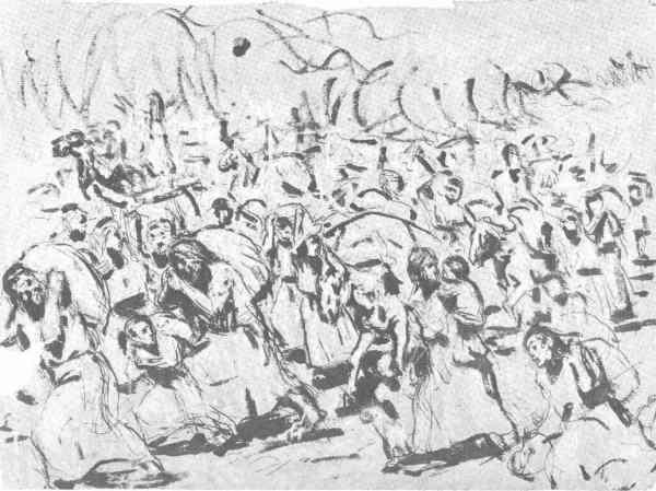 Picasso Desbandada. Barcelona 1896. Museo Picasso de Barcelona.