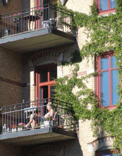 ¡Sal al balcón, sal al balcón!. Foto R.Puig