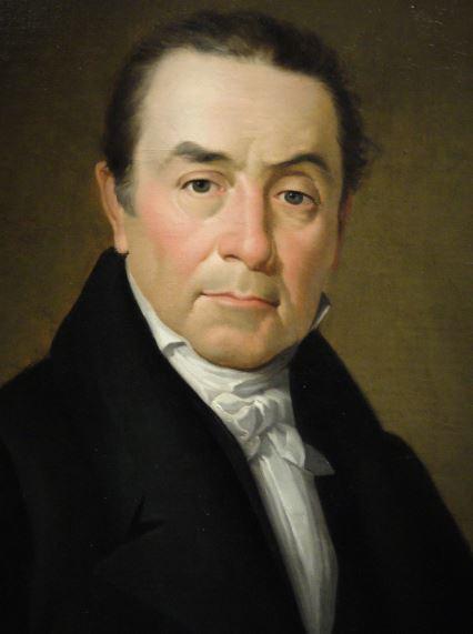 El banquero Jaime Ceriola. Bernardo López Piquer. 1835.Museo Romántico.  Madrid.  Foto R.Puig