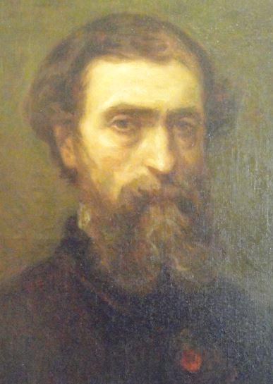 Eugenio de Ochoa. Anónimo. ca. 1870. Museo Romántico.  Madrid.  Foto R.Puig