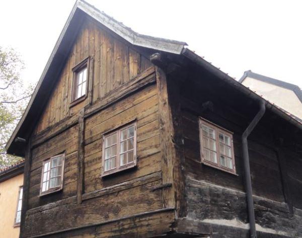 Vieja fachada.Visby. Foto R.Puig