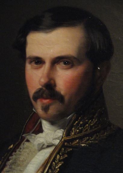 Fernando Álvarez Martínez. Federico de Madrazo. 1849. Museo Romántico.  Madrid.  Foto R.Puig