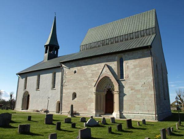 Iglesia romanica. de Lau. Siglo XII. Gotland. Foto R.Puig