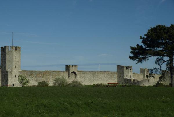 Las murallas de Visby. Foto R.Puig