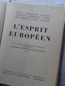 L'Esprit Européen. Foto R.Puig.