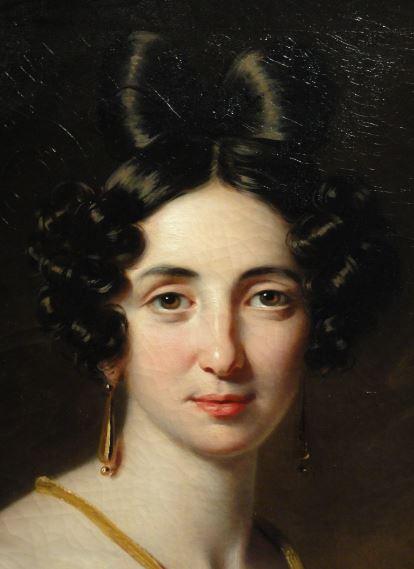 Lucía de Riego. Escuela inglesa. 1825. Museo Romántico.  Madrid.  Foto R.Puig