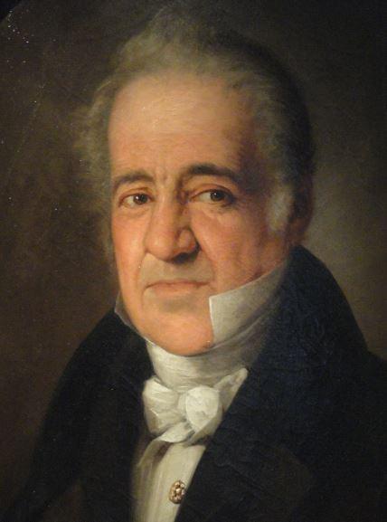 Manuel José Quintana. Taller de Vicente López. 1830. Museo  Romántico.  Madrid.  Foto R.Puig