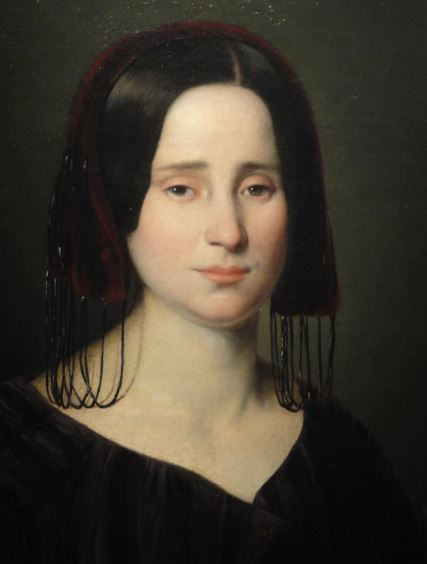 Manuela Romea. Antonio Mª Esquivel. 1845. Museo Romántico. Madrid. Foto R.Puig