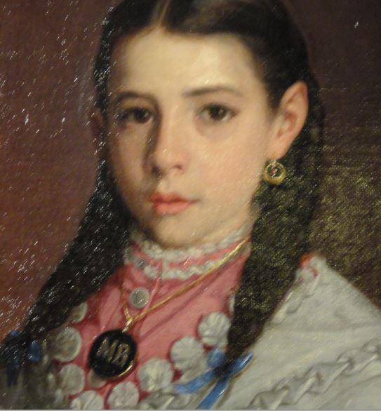 María Bosch. Federico de Madrazo. 1875. Museo  Romántico.  Madrid.  Foto R.Puig