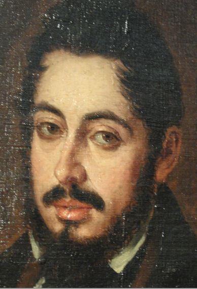 Mariano José de Larra. José Gutiérrez de la Vega 1835. Museo Romántico.  Madrid.  Foto R.Puig