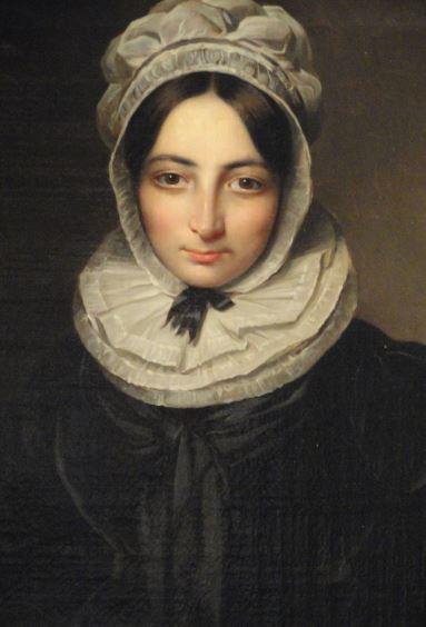 Mª Teresa del Riego y Riego. B.enjamin de la Cour 1824.. Museo  Romántico.  Madrid.  Foto R.Puig
