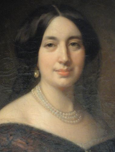 Nicolasa Aragon. Federico de Madrazo.  1843. Museo  Romántico.  Madrid.  Foto R.Puig