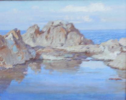 Paisaje marino de William Bruce. Brucebo. Gotland. Foto R.Puig.