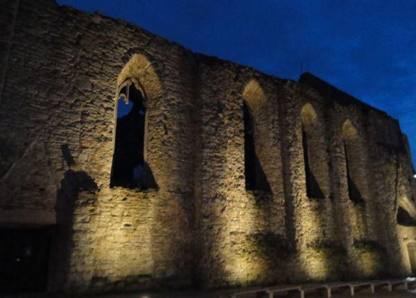 Ruinas de Santa Catalina. Visby. Foto R.Puig