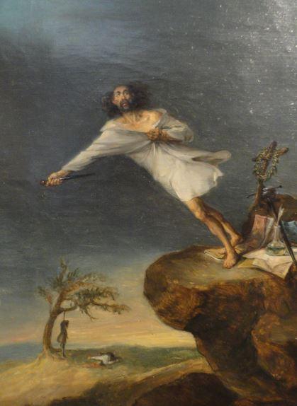 Suicidio romántico. Leonardo Alenza. 1839. Museo Romántico.  Madrid.  Foto R.Puig