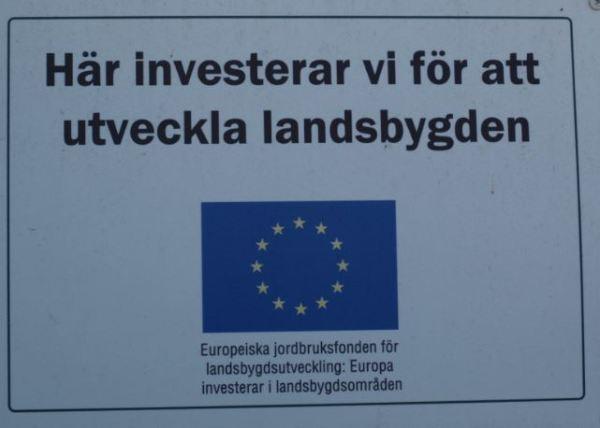 Testimonio de la ayuda de los Fondos de la Politica Agricola Comun en proyectos innovadores en Gotland. Foto R.Puig