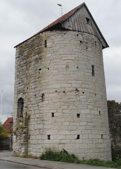 Torre del molino. Visby. Foto R.Puig