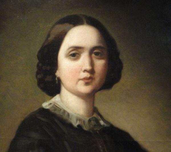 Winnefred Cogham. Federico de Madrazo. 1858. Museo Romántico.  Madrid.  Foto R.Puig