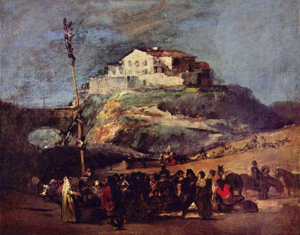 Arbol de Mayo. Goya. Wikipedia