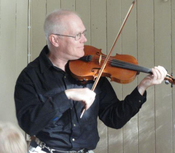 El violinista risueño. Foto R.Puig