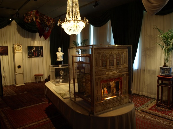 Interior de Fanny y Alexander. Bergmancenter. Fårö. Foto R.Puig