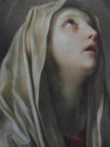 La Mater Dolorosa de Guido Reni. Galería Corsini. Roma