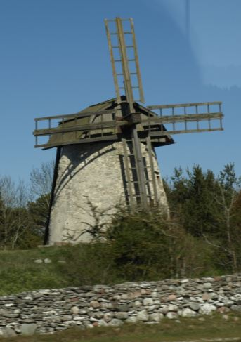 Molino. Gotland.Foto R.Puig