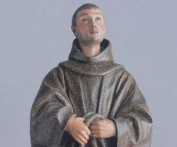Pedro de Mena. Detalle. Fray Diego de Alcala. Coleccion Masaveu.