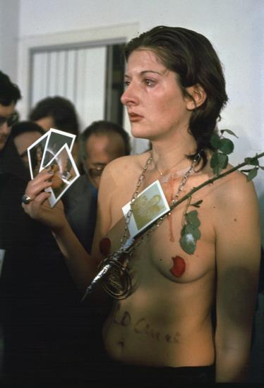 Performance. Marina Abramovic