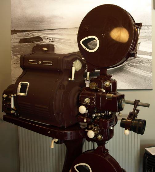 Proyector AGA utilizado por Ingmar Bergman. Bergmancenter. Foto R.Puig