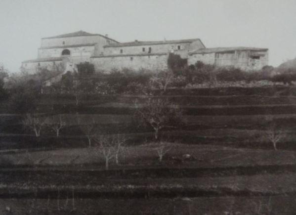 El Can Puig de la Bellacasa a principios del siglo XX. Foto Consell Comacal del Pla de l'Estany.
